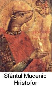 Sfantul mucenic Hristofor