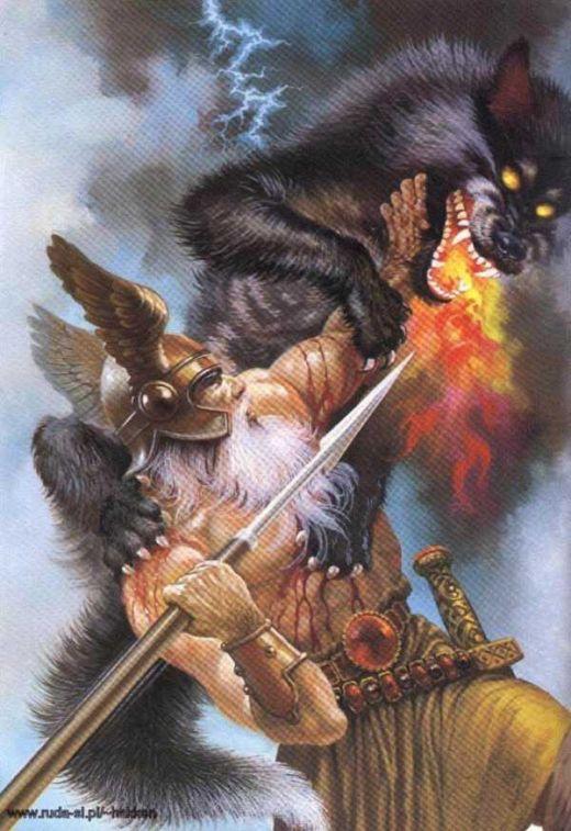 Odin vs. Fenrir