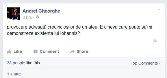 Provocarea lui Gheorghe